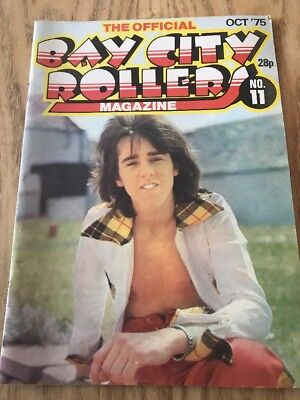 Bay City Rollers Official Magazine Issue 11