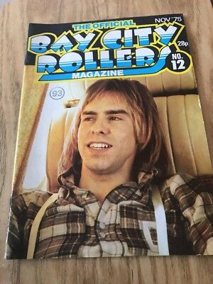 Bay City Rollers Official Magazine Issue No 12
