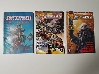 Inferno 1, Warhammer Monthly 0, Birthday Special, Black Library, GW, Comics