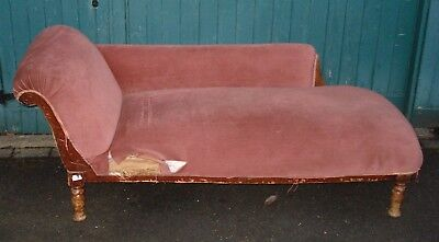 Edwardian chaise-longue - ideal as a shop fitting or for home
