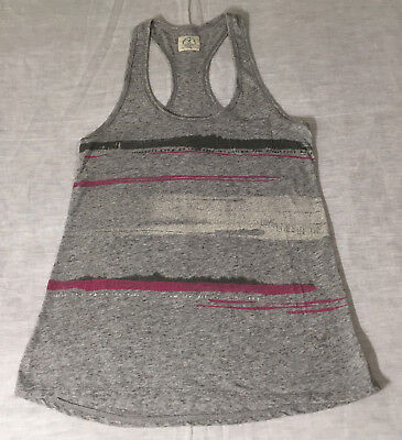 American Eagle Love Lives in the Sun Sleeveless Tank Top Ladies Small Petite S/P