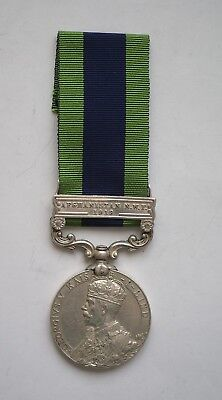 1908 India General Service Medal, Afghanistan NWF 1919 bar 28th Cavalry Farrier