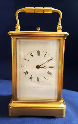 Rare  Dent Striking Repeater Carriage Clock Working