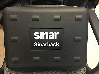 SinarBack 54 Digital Back with Sinar Plate Adapter 551.65.233 and Covers 551.65.