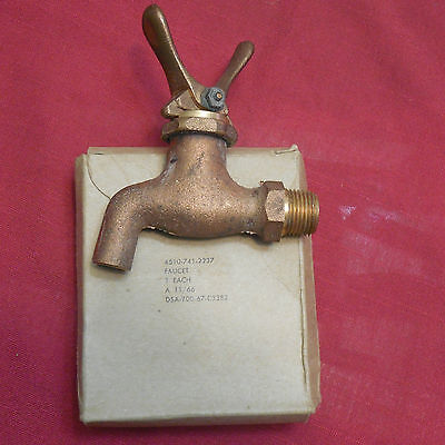 Vintage Brass Water Faucet