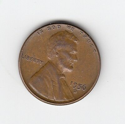 1956D Usa Wheat One 1 Cent - Nice Coin