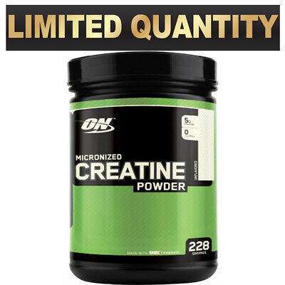 Optimum Nutrition On Creatine Unflavoured Micronized Monohydrate