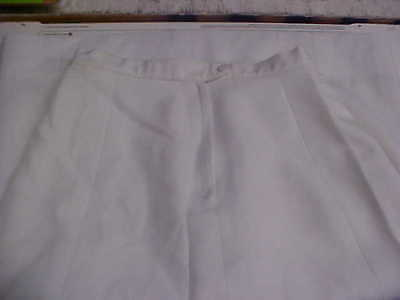 USN NavyFemale Officer Dress White Skirt unknown size FREE SHIPPING loc#w175