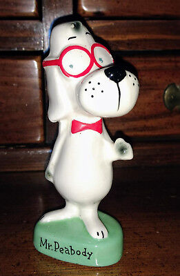 Rare Ward Productions 1960 Rocky Friend Mr. Peabody The Dog Original Red Glasses