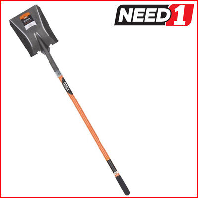 OSKA Square Mouth Shovel with Long Fibreglass Handle. Available in Packs of 4