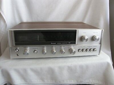 Vintage Sansui 661 AM/FM Stereo Receiver Sounds Great Nice Condition Silver Face
