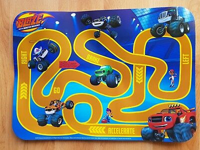 Nickelodeon Blaze and the Monster Machines Kid's Place Table Plastic