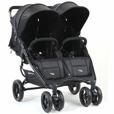 Valco Baby Snap Duo Twin Stroller - Black Beauty