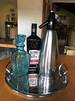 Vintage/Retro Bar Tray and Boc Soda Syphon