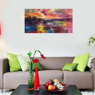 60*120cm Modern Hand-painted Oil Painting Abstract Art Decor On Canvas Unframed