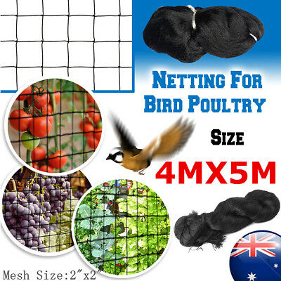Muti-Sizes Commercial Fruit Tree Plant Knitted Anti Bird Netting Pest Net Mesh