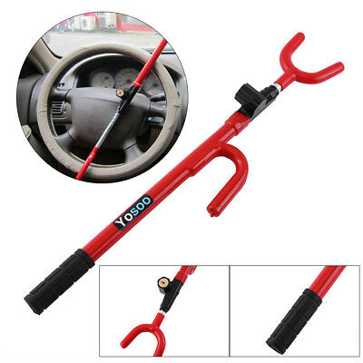 Steering Wheel Lock Anti Theft Security System Car Truck SUV Auto Club Sale