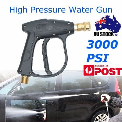 3000PSI High Pressure Washer Cleaner Car Garden Spray Water Gun Nozzle Brass