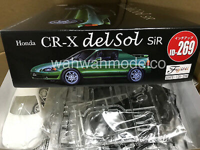 Fujimi ID-269 Honda CR-X delsol SiR 1/24 scale kit new ver.