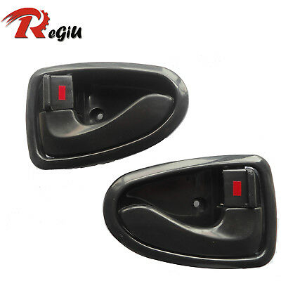 For 00-06 Hyundai ACCENT Inside Left Front Rear Left Right Side Door Handle 2Pcs