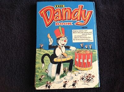 The Dandy Book. 1974. Comic Annual. Excellent condition Clipped