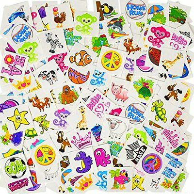 German Trendseller® - Mega Kinder Tattoos Set | 36 Tattoos | Kindergeburtstag