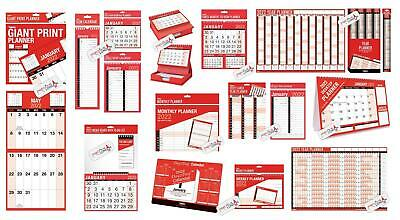2019 Wall Calendar Slim/easy Month To View/large Month To View/gaint Calendar