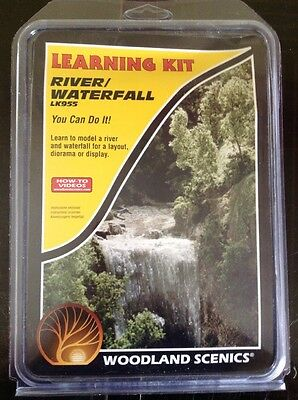 Woodland Scenics LK955.  Learning Kit - River/Waterfall.