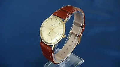 SUPER ETERNA-MATIC CENTENAIRE AUTOMATIC VINTAGE WATCH UHR MONTRE 18K 750ger GOLD
