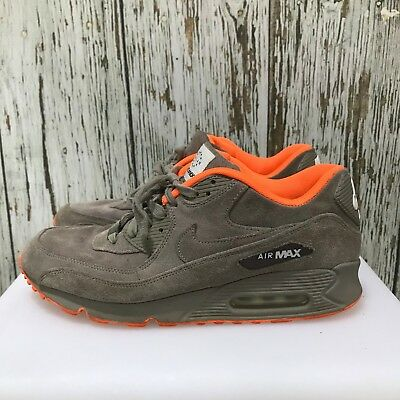 8324333c2f NIKE Grey Air Max Milan Hometurf Sneaker Trainers Sports Mens Size 10.5  10445