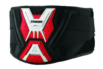 Thor Force Support Belt Black/red/white Large/x-Large