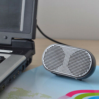 Portable Mini USB Stereo Music Speaker for Home Office Laptop Notebook Healthy