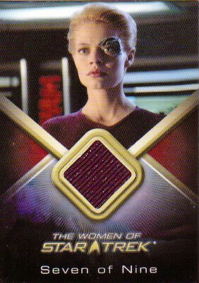 2010 The Women of Star Trek - COSTUME WCC8 Jeri Ryan as Seven of Nine