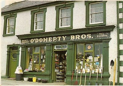 AN IRISH SHOP FRONT O'DOHERY BROTHERS JOHN HINDE IRELAND PEOPLE & PLACES No. 71