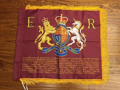 Blues and Royals Sovereigns Standard flag
