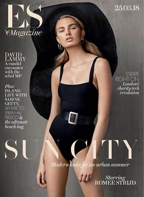 UK ES Magazine May 2018: ROMEE STRIJD COVER & INTERVIEW