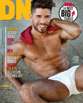 DNA Magazine Issue 206 Cheyenne Parker  Joshua Heuston  Sam Curry - Gay Interest