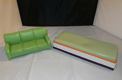Amazing Hannah Montana Beach House Sofa Couch Bed Barbie Sized Evergreenethics Interior Chair Design Evergreenethicsorg