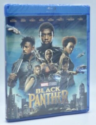 Black Panther (Blu-ray Disc, 2018) NEW w/ Slipcover  Marvel