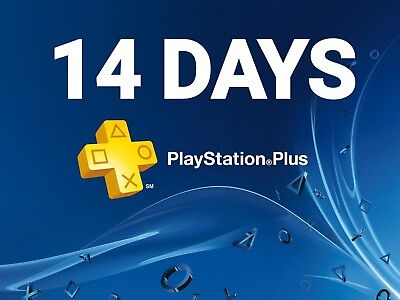 Ps Plus 14 Day -Ps4-Ps3-Ps Vita - Cheapest Playstation