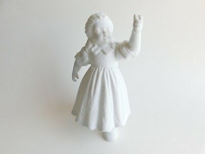 Dept 56 Girl Hanging the Ornaments Winter Silhouettes  Porcelain Figurine