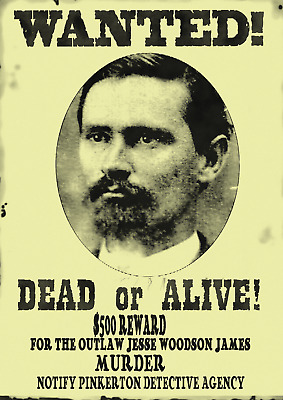 Old West Wanted Posters Western Outlaw Doc Wyatt Jesse Gunfighter Sheriff Law