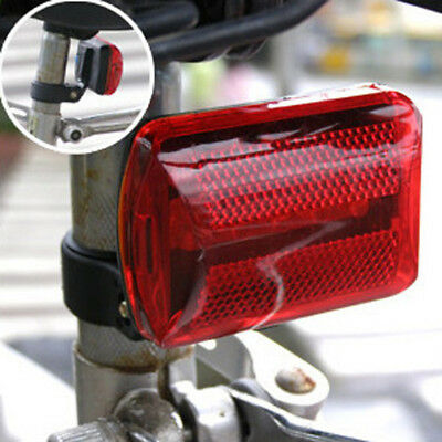 Durable 5xLED Bicycle Rear Light 2x AA Waterproof Safety Warning Bike Tail Light