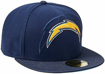 cheap for discount d7c3c 5892f Los Angeles Chargers Nfl (New Era 59Fifty) Fitted Size 7 1 8 Flat