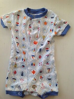 Birthday Quotes Best Baby Gap Boys 3 6 Month 1 Piece On Up Outfit With Nautical Theme