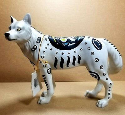"Westland Giftware Call of the Wolf "" Totem Wolf"" Item #14107"