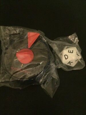Scattergories Original Large 20 sided Die/Dice and Timer Replacement NEW