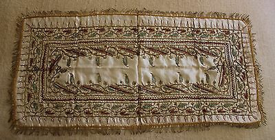 Very Rare Handcrafted Egyptian Silk, Cloth Backed, Moascar WW1 1916