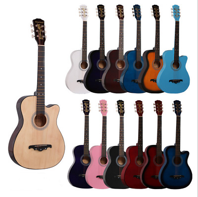New Professional Acoustic Callaway Folk 38 inch  Guitar STAGE ESSENTIALS