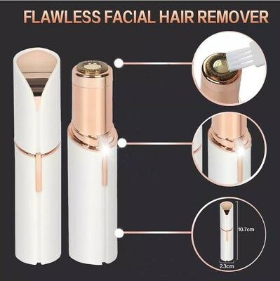 facial hair remover flawless face body electric women shaver trimmer remover